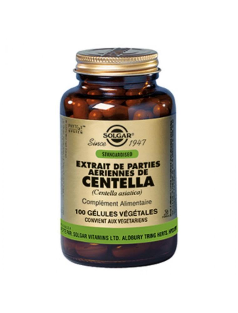 Centella asiatica - Circulation et cellulite 100 gélules végétales - Solgar
