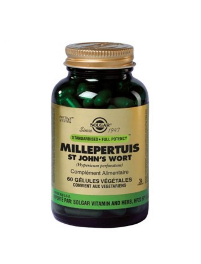 Millepertuis - Etat dépressif 60 gélules - Solgar