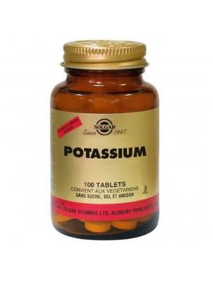 Potassium - Equilibre acido-basique 100 gélules - Solgar