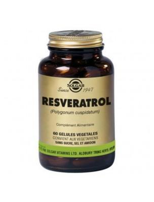 Resvératrol - Antioxydant 60 gélules végétales - Solgar