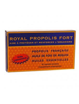 Royal Propolis Fort - Vitalité et Immunité 40 capsules - Nutrition Concept