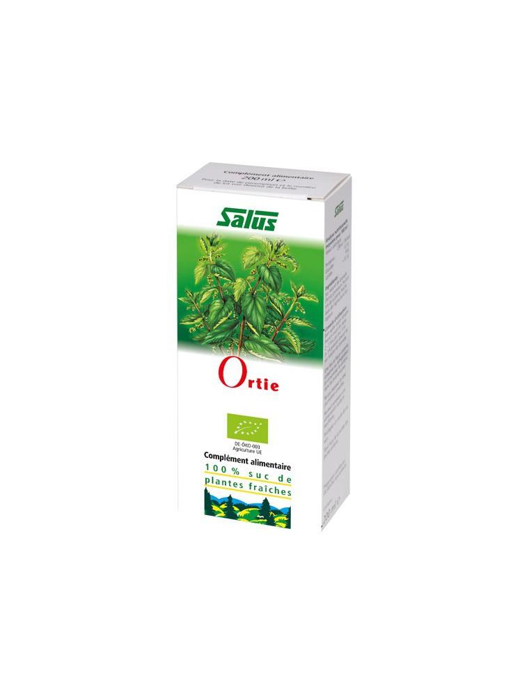 Ortie Bio - Articulations et Dépuratif Jus de plante fraîche 200 ml - Salus