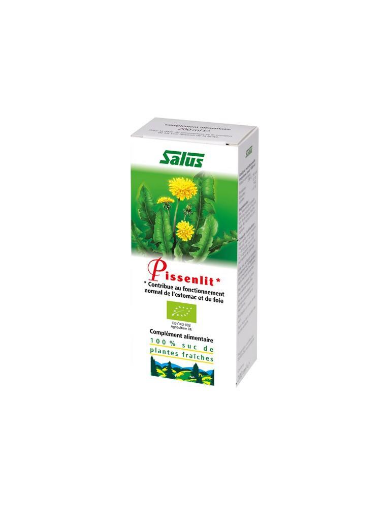 Pissenlit Bio - jus de plante fraîche 200 ml – Salus