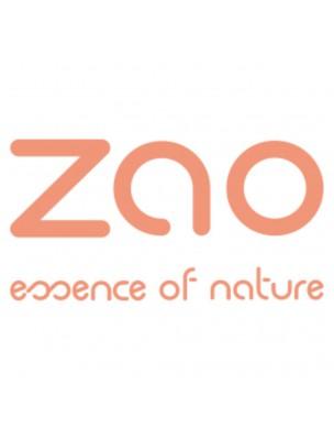Recharge Ombre à paupières rectangle Bio - Gris kaki 123 3 grammes - Zao Make-up