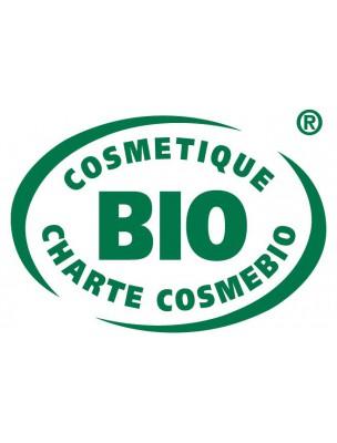 Recharge Ombre à paupières rectangle Bio - Bleu paon 127 3 grammes - Zao Make-up