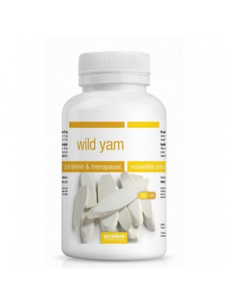 Yam - Ménopause 80 gélules - Purasana
