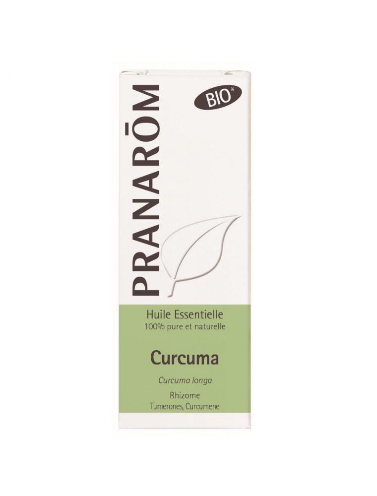 Curcuma (Safran de l'Inde) Bio - Huile essentielle de Curcuma longa 10 ml - Pranarôm