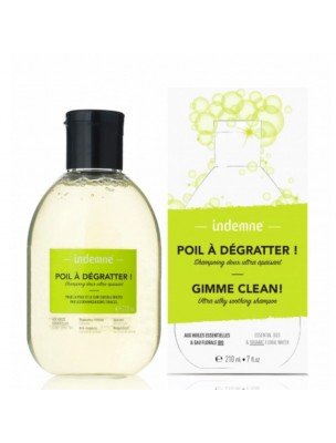 Poil à Dégratter - Shampoing doux ultra apaisant 210 ml - Indemne