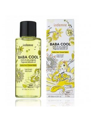 Baba Cool Vanille Coco - Huile de soin parfumée 100 ml - Indemne