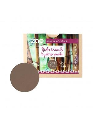 Recharge Poudre à Sourcils Bio - Bruns 262 3 grammes - Zao Make-up