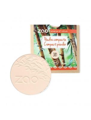 Recharge Poudre Compacte Bio - Ivoire 301 9 grammes - Zao Make-up