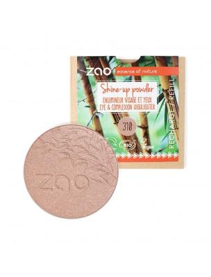 Recharge Shine-up Powder Bio - Champagne rosé 310 9 grammes - Zao Make-up
