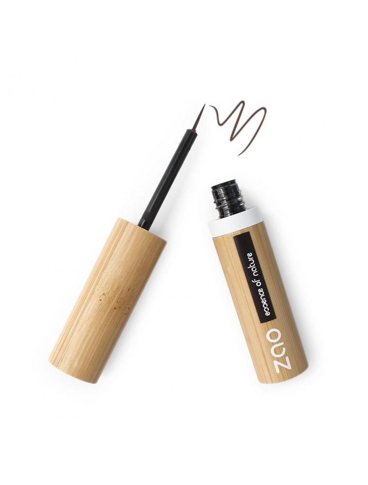 Eye liner Pinceau Bio - Brun foncé 071 3,8 ml - Zao Make-up