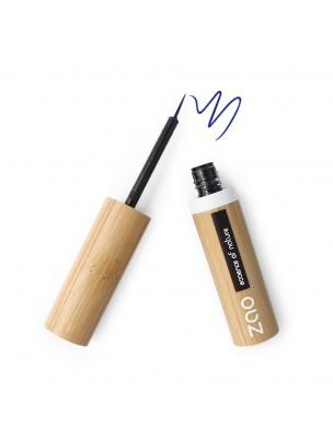 Eye liner Pinceau Bio - Bleu électrique 072 3,8 ml - Zao Make-up