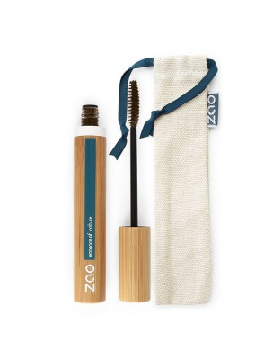 Mascara Volume et Gainage Bio - Cacao 086 7 ml - Zao Make-up