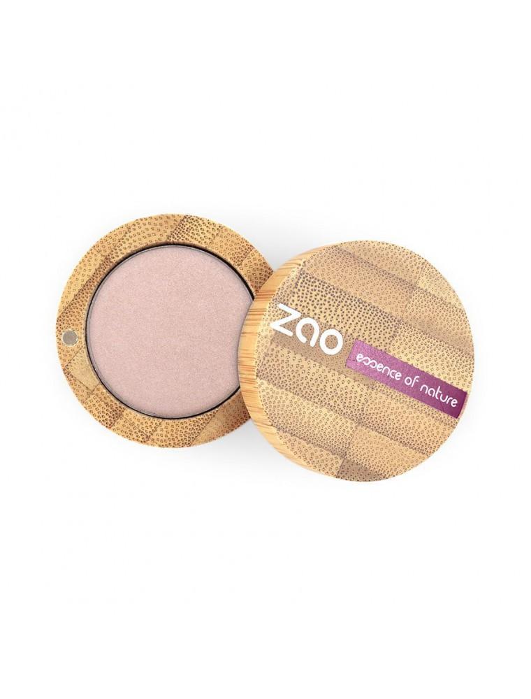 Ombre à paupières nacrée Bio - Beige rose 102 3 grammes - Zao Make-up