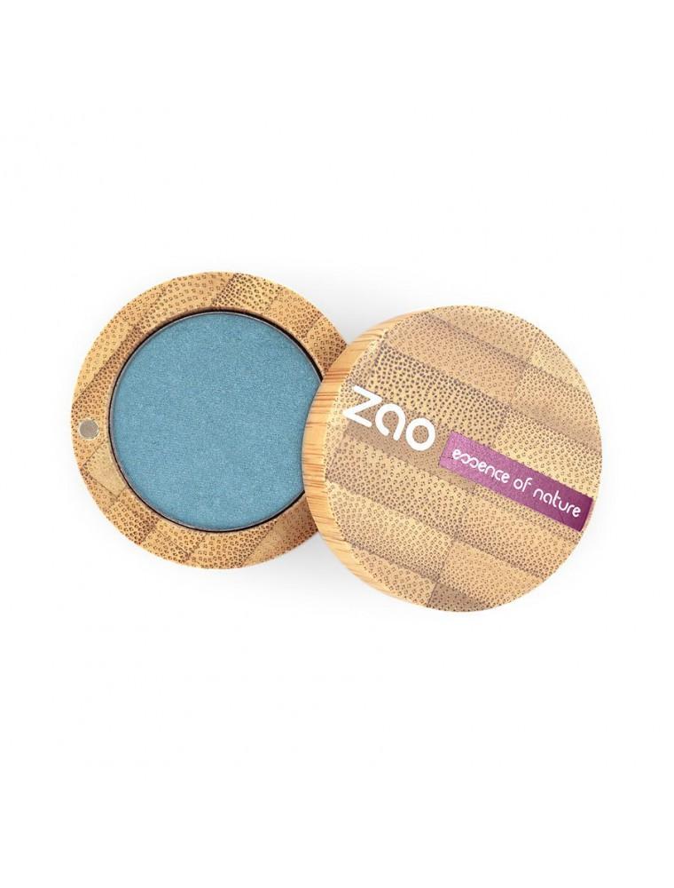 Ombre à paupières nacrée Bio - Bleu jeans 116 3 grammes - Zao Make-up