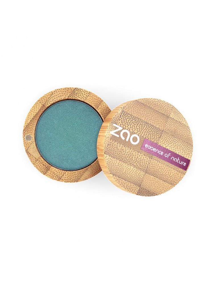 Ombre à paupières nacrée Bio - Bleu paon 127 3 grammes - Zao Make-up