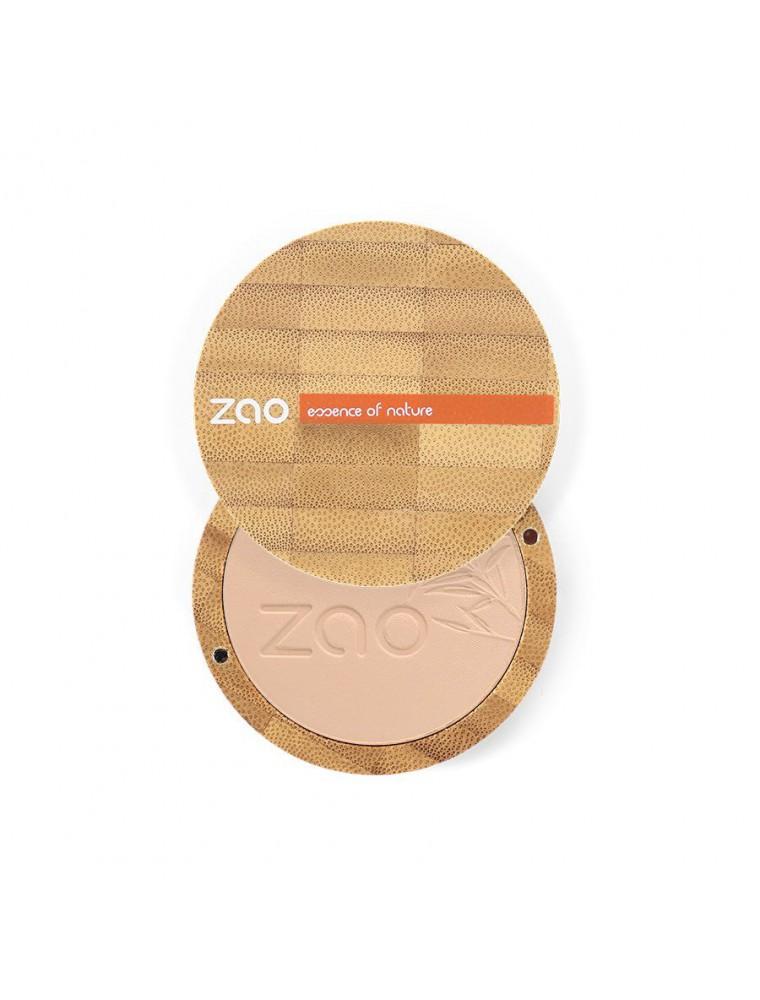 Poudre Compacte Bio - Beige orangé 302 9 grammes - Zao Make-up