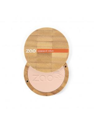 Poudre Compacte Bio - Capuccino 304 9 grammes - Zao Make-up