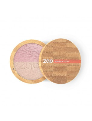 Shine-up Powder Bio Duo - Rose et Or 311 9 grammes - Zao Make-up