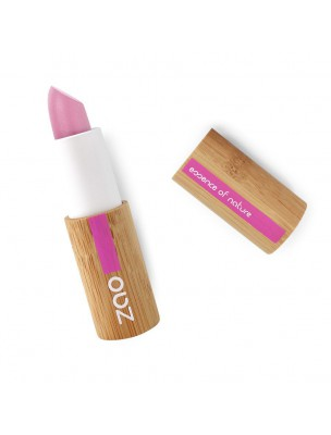 Rouge à lèvres Mat Bio - Rose bonbon 461 3,5 grammes - Zao Make-up
