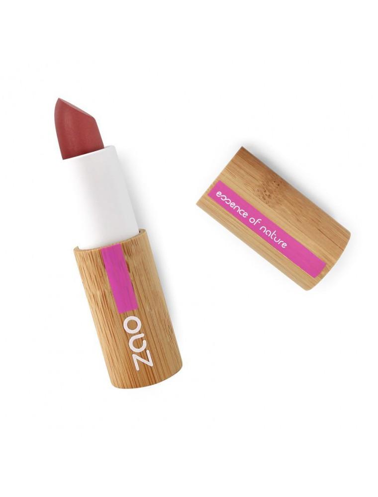 Rouge à lèvres Mat Bio - Rouge sombre 465 3,5 grammes - Zao Make-up