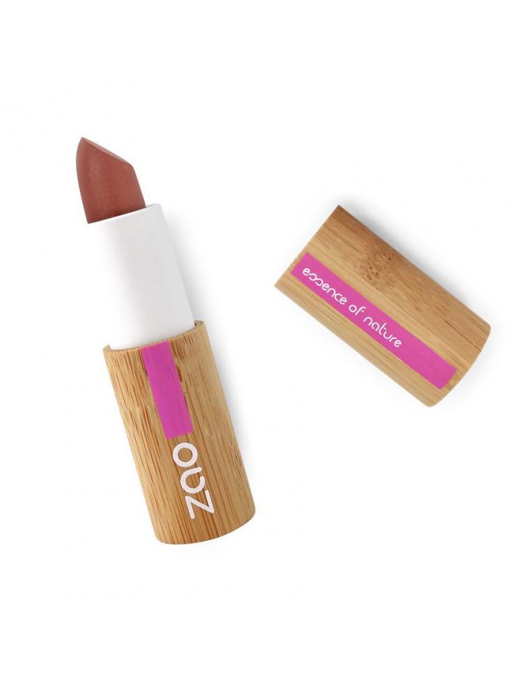 Rouge à lèvres Mat Bio - Nude hâlé 467 3,5 grammes - Zao Make-up