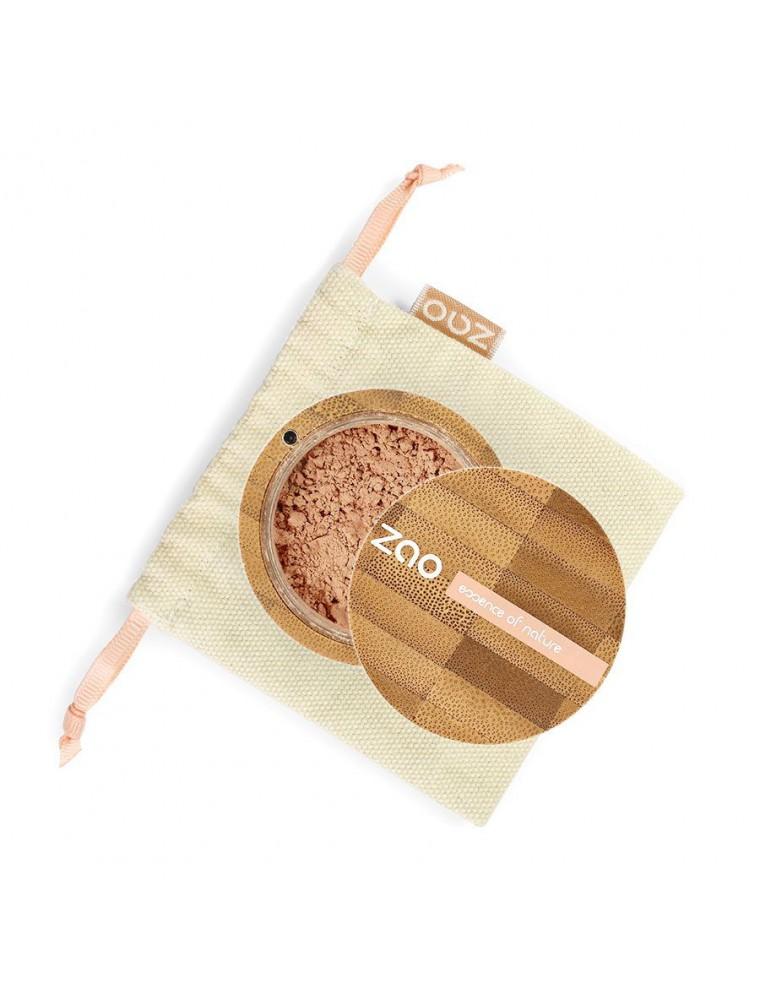 Mineral silk Bio - Beige noisette 505 13,5 grammes - Zao Make-up