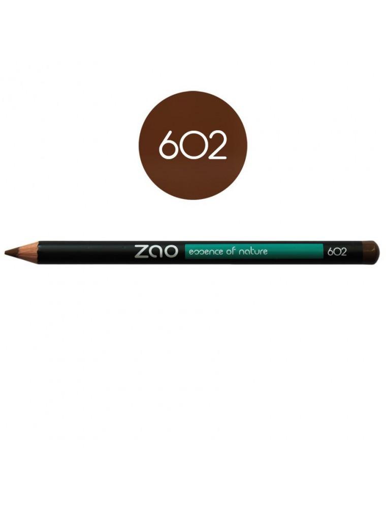 Crayon Bio - Brun foncé 602 1,14 grammes - Zao Make-up