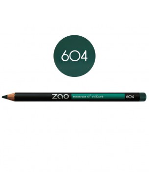 Crayon Bio - Vert sombre 604 1,14 grammes - Zao Make-up