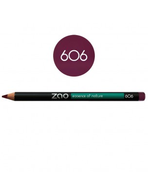 Crayon Bio - Prune 606 1,14 grammes - Zao Make-up