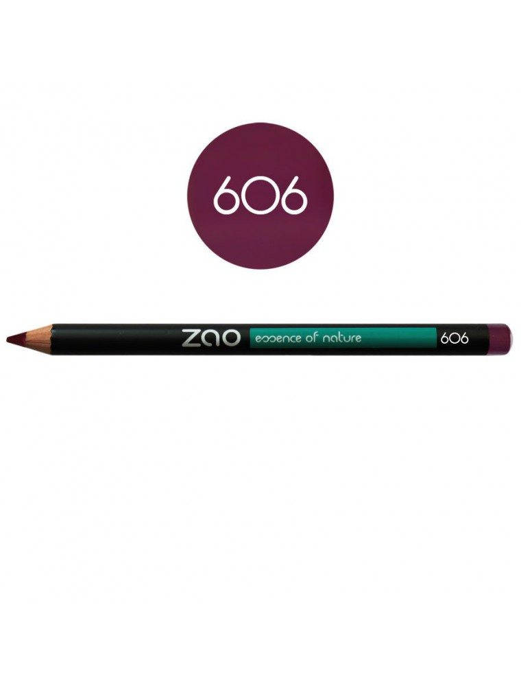Crayon Bio - Prune 606 1,14 grammes - Zao Make-up