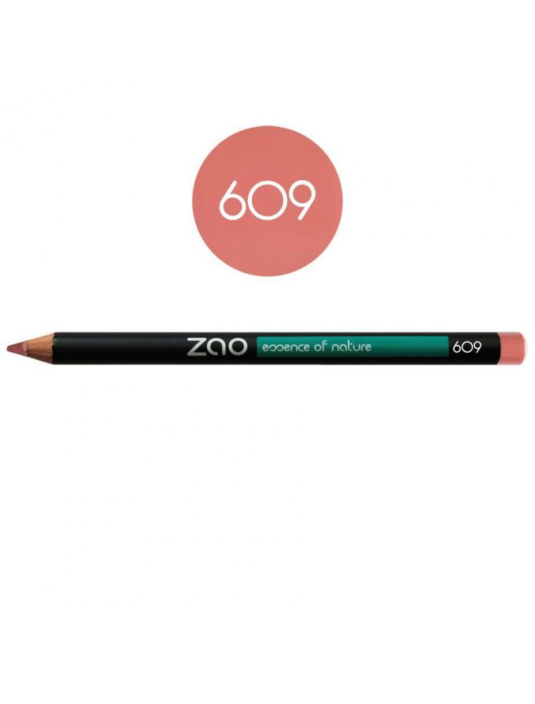 Crayon Bio - Vieux rose 609 1,14 grammes - Zao Make-up