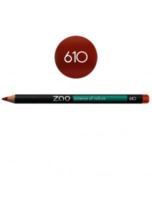 Crayon Bio - Rouge cuivré 610 1,14 grammes - Zao Make-up