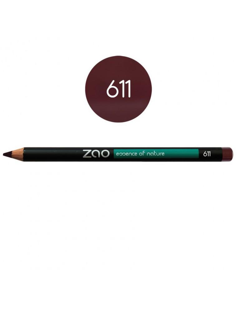 Crayon Bio - Pourpre 611 1,14 grammes - Zao Make-up