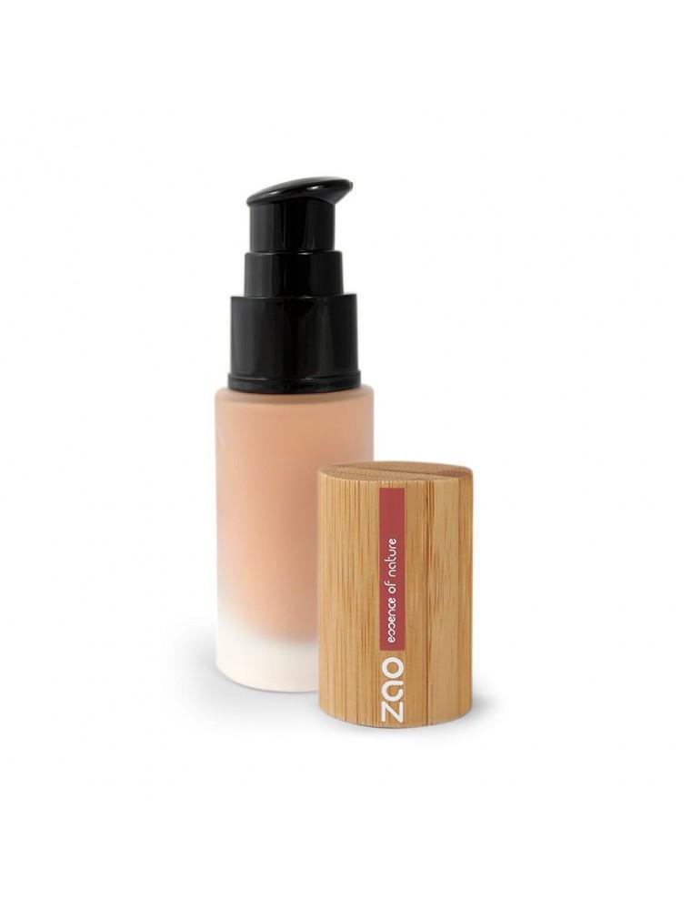 Soie de teint Bio - Abricot 702 30 ml - Zao Make-up