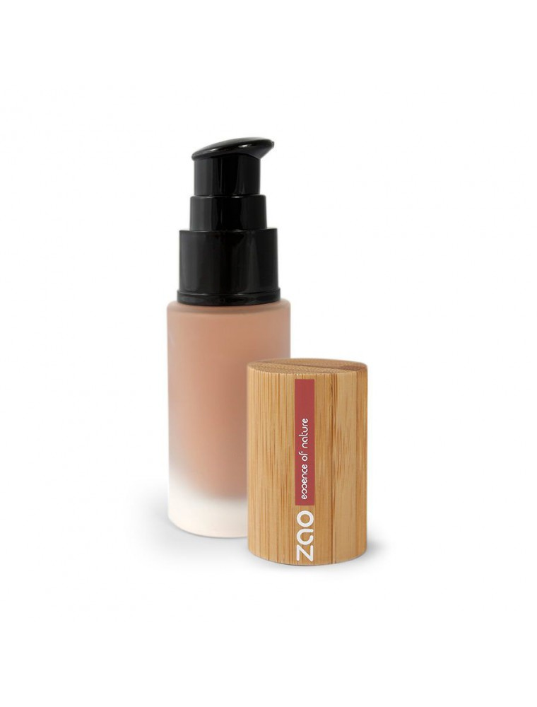 Soie de teint Bio - Chocolat 706 30 ml - Zao Make-up