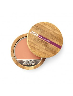 Fond de Teint Compact Bio - Pétale de rose 732 6 grammes - Zao Make-up