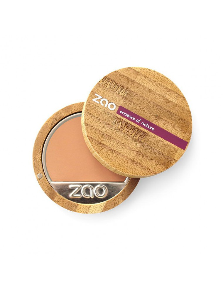 Fond de Teint Compact Bio - Neutre 733 6 grammes - Zao Make-up