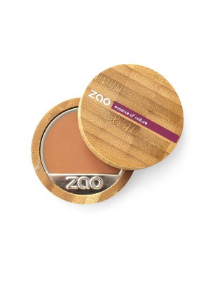 Fond de Teint Compact Bio - Capuccino 734 6 grammes - Zao Make-up
