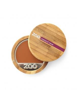 Fond de Teint Compact Bio - Chocolat 735 6 grammes - Zao Make-up