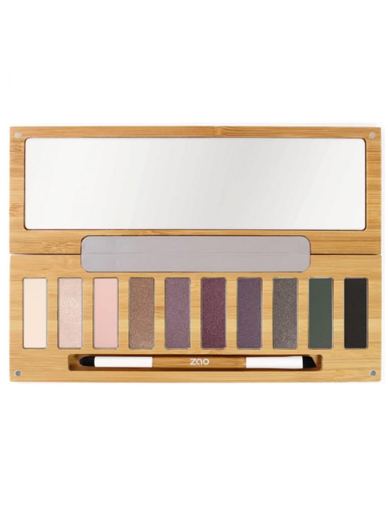 Clin d'oeil n°1 Bio - Palette de 10 ombres à paupières - Zao Make-up