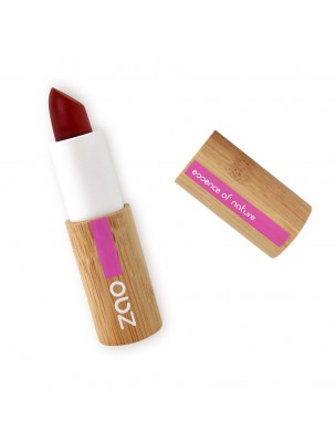 Rouge à lèvres Cocoon Bio - Bordeaux 413 3,5 grammes - Zao Make-up