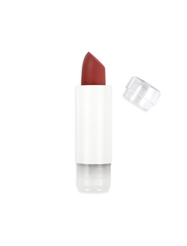 Recharge Rouge à lèvres Classic Bio - Rouge grenade 472 3,5 grammes - Zao Make-up