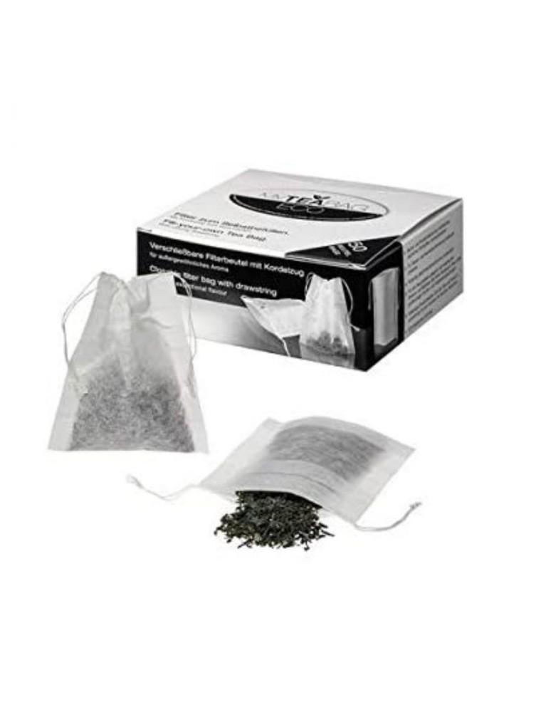 Filtres à Thé refermables 50 filtres en papier