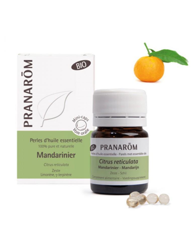 Mandarinier Bio - Perles d'huiles essentielles - Pranarôm