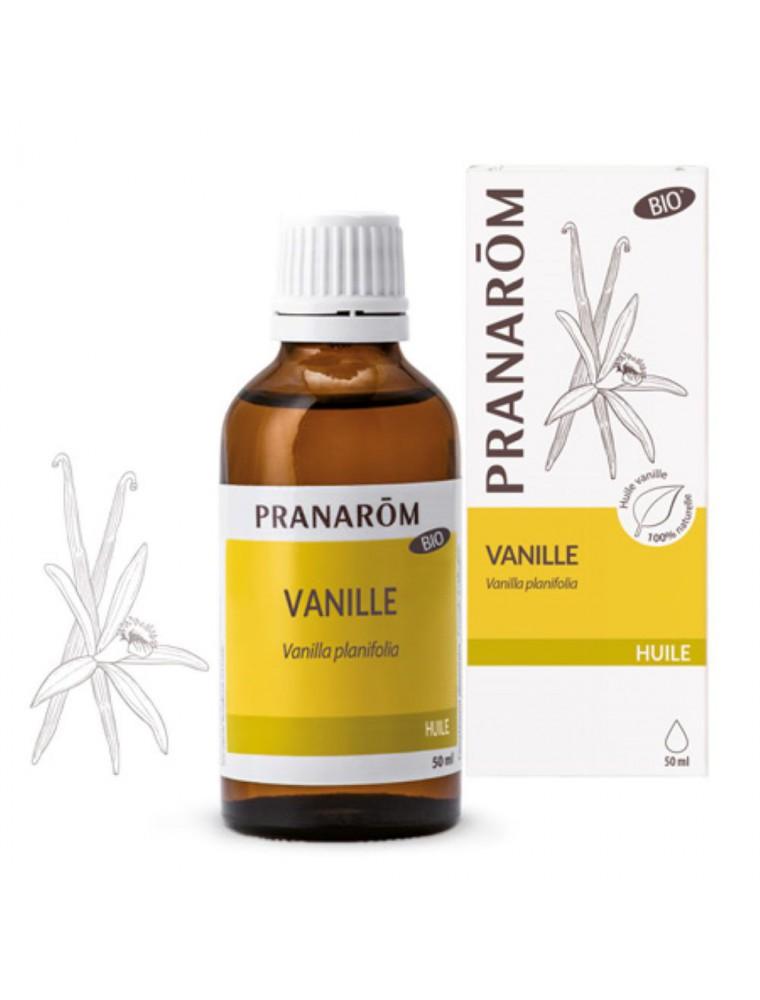 Vanille Bio - Huile végétale Vanilla planifolia 50 ml - Pranarôm