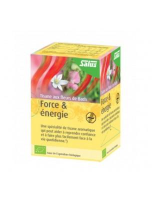 Force et Energie Bio - Tisane aux Fleurs de Bach 15 sachets - Salus