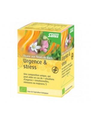 Urgence et Stress Bio - Tisane aux Fleurs de Bach 15 sachets - Salus